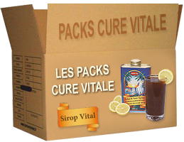 Packs Cure Vitale - Sirop Vital MADAL BAL